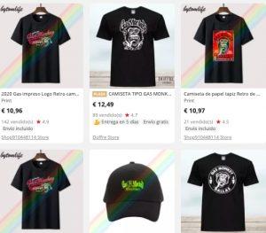 Camisetas Gas Monkey Aliexpress