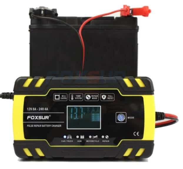 cargador de bateria para coche