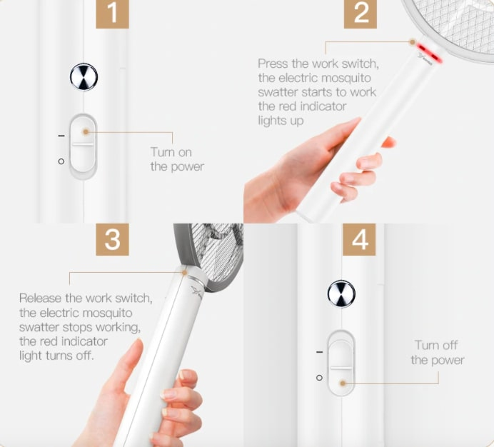 como usar matamosquitos