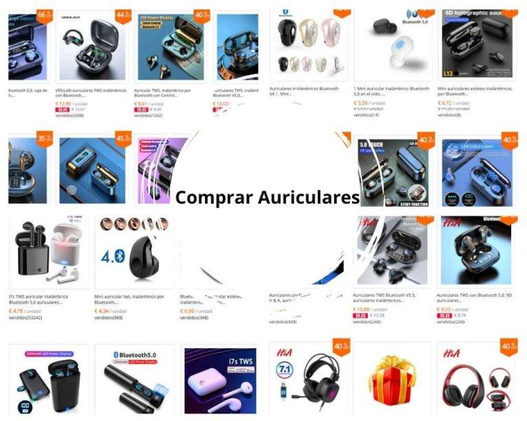 comprar auriculares en china