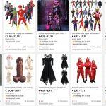 Top disfraces de Halloween en AliExpress y Amazon