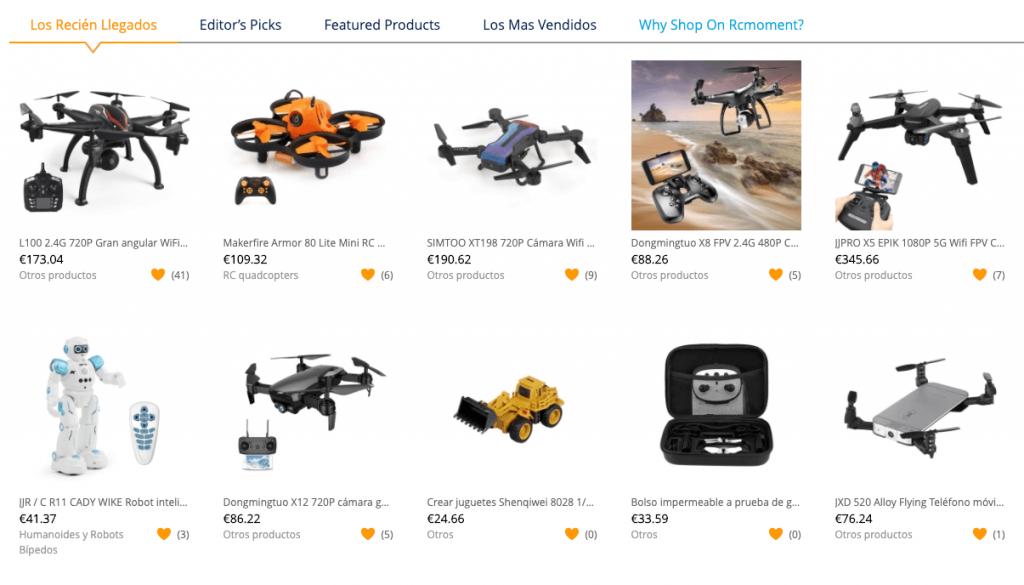 comprar dron en RCMOMENT