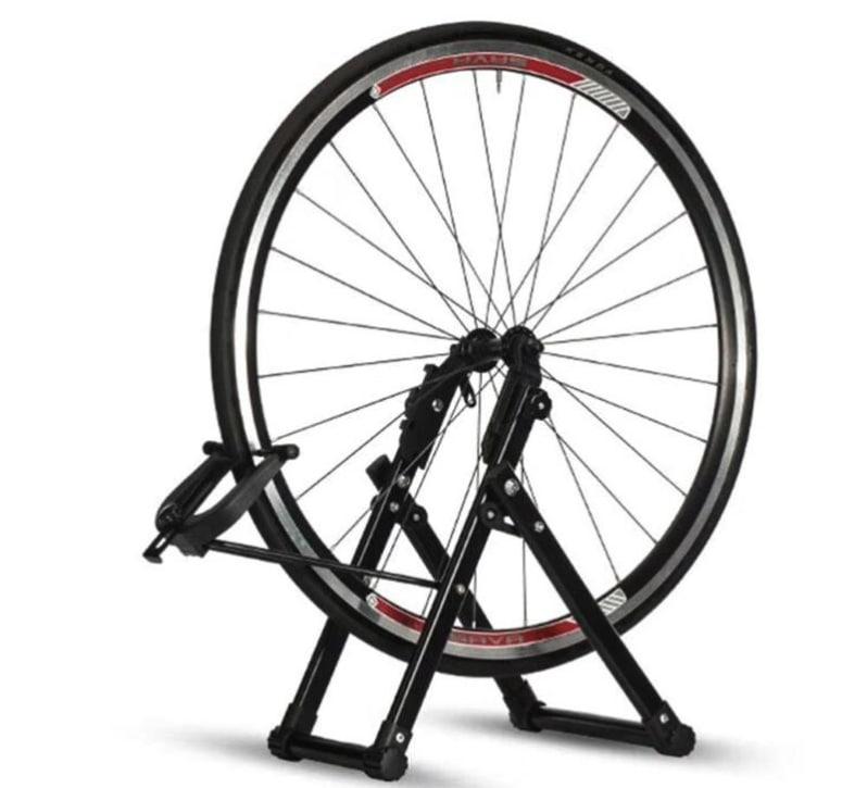 Centrador de rueda de bicicleta