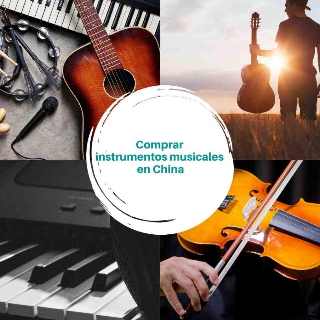 Comprar instrumentos musicales en China