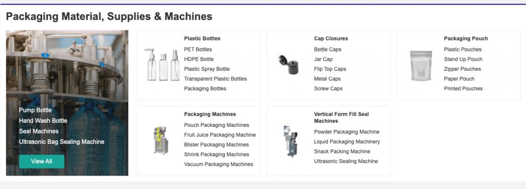 productos IndiaMart