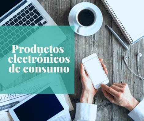 productos electrónicos de consumo
