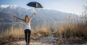 ropa impermeable para los días de lluvia