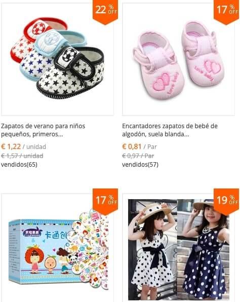 ropa infantil aliexpress