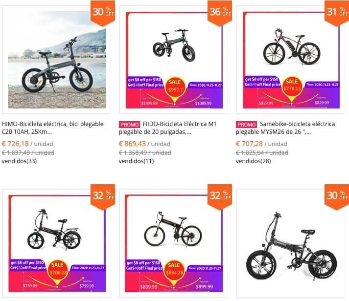 tienda bicicletas electricas