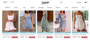 vestidos Choies