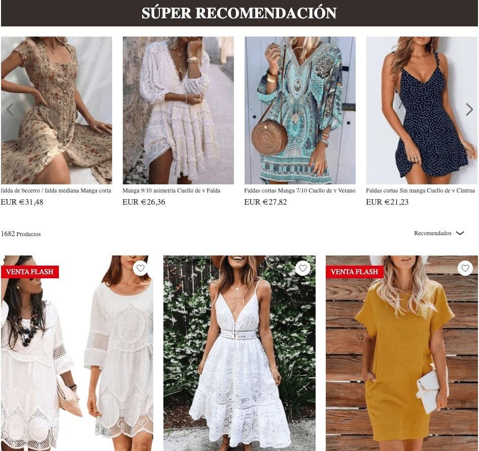 Tidebuy vestidos